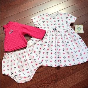Little Me 3- piece outfit, Anchors
